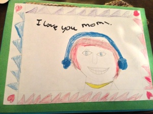 Mommy Pam's Hair and Necklace; Mommy M's Eyes and Earmuffs