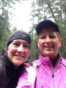 Cami and Pam at Whatcom Falls