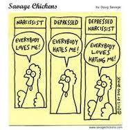 narcissist chicken